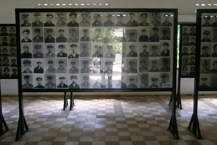 Headshots of people killed at S.21