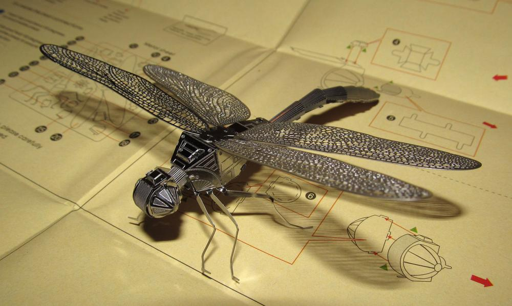 Assembled MetalEarth Dragonfly